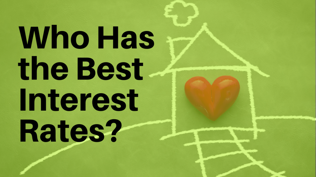 Who has the best interest rates
